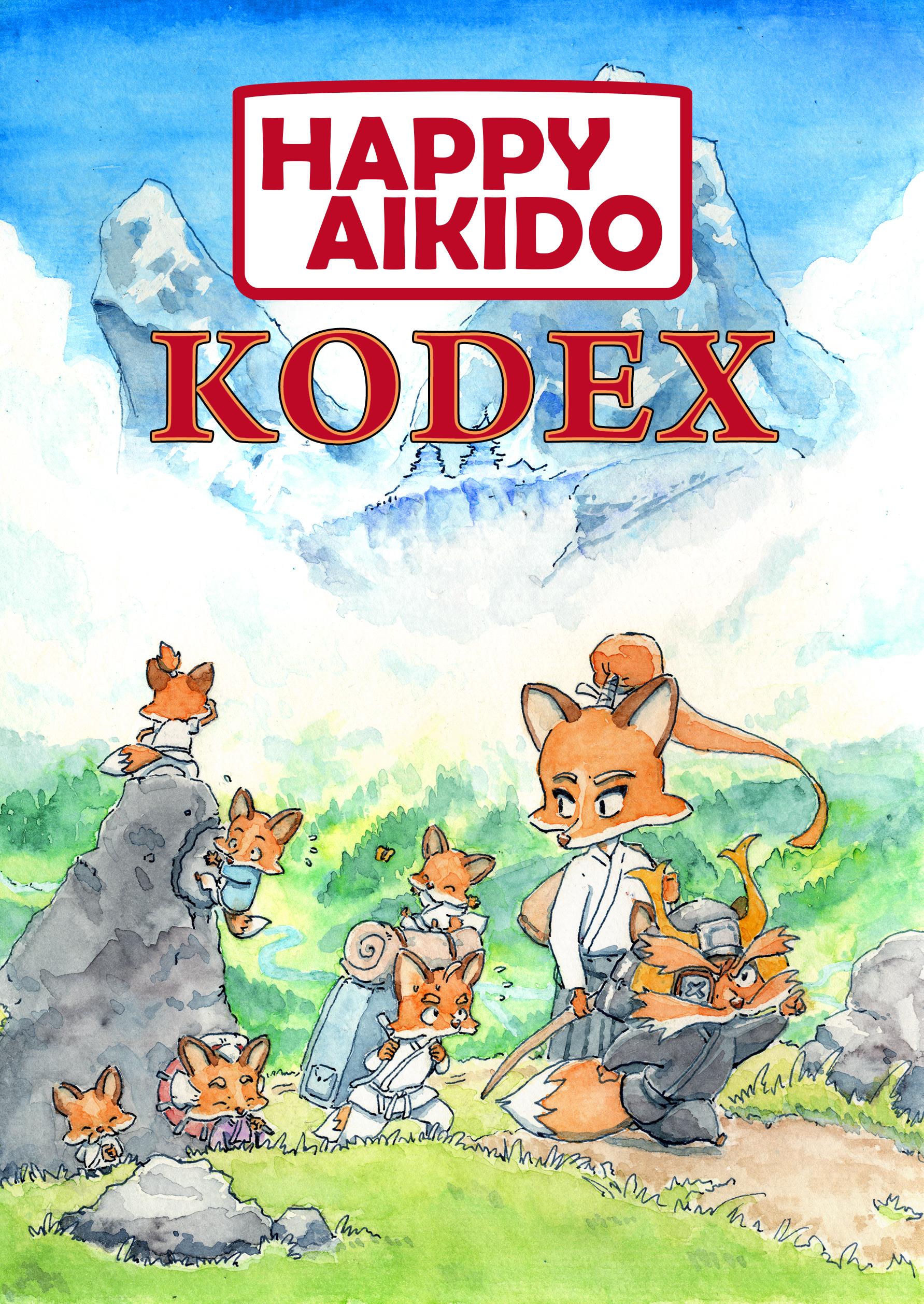 """Boksläpp Av Vår Träningsbok """"Happy Aikido Kodex"""""""