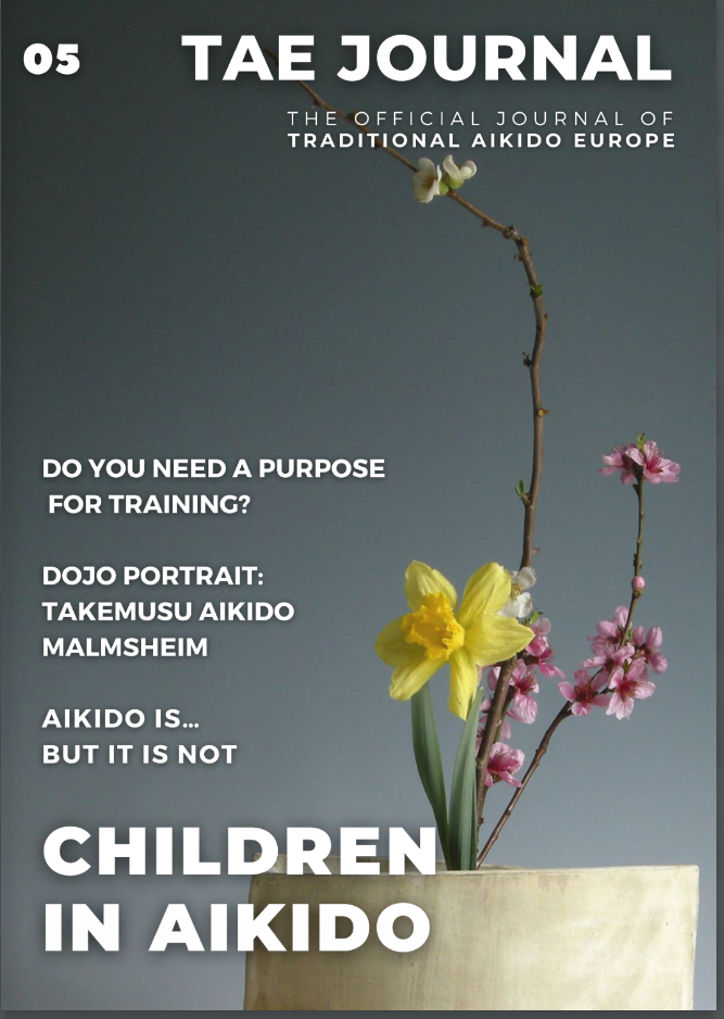 Intervju Om Happy Aikido I TAE Journal!